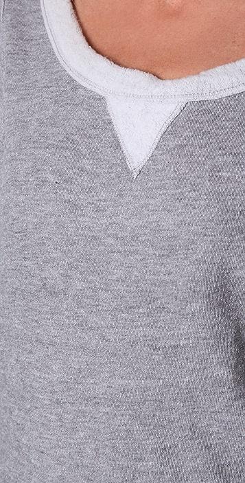 Splendid Vintage Sherpa Fleece Pullover