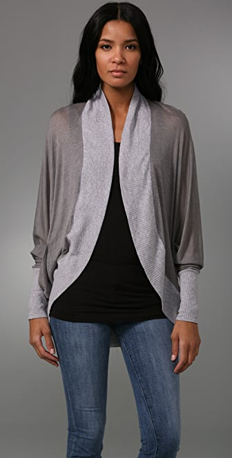Splendid Sheer & Drapey Cardigan