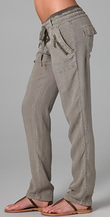 Splendid Crosshatch Cargo Pants