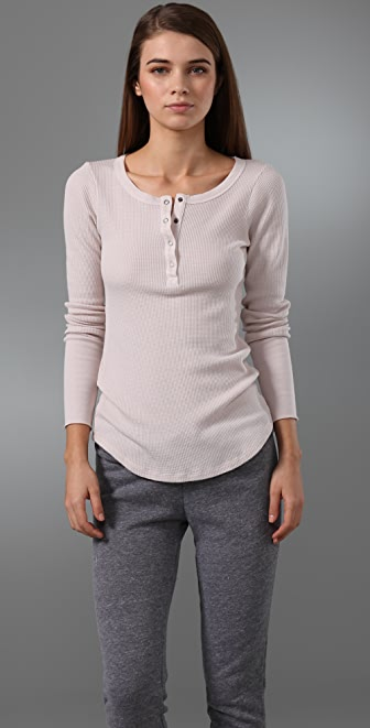 Splendid Long Sleeve Thermal Top
