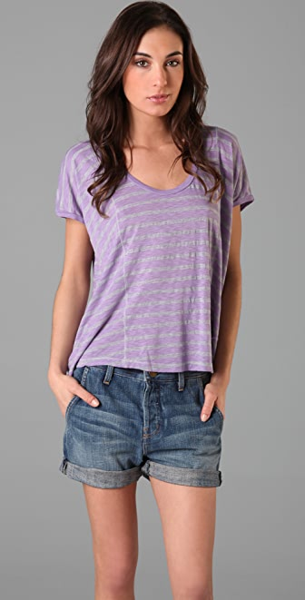 Splendid Venice Stripe Top