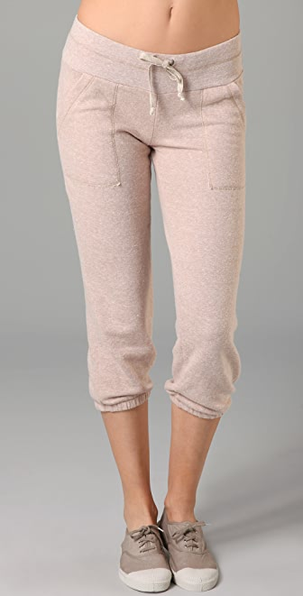 Splendid Melange Mock Twist Sweats