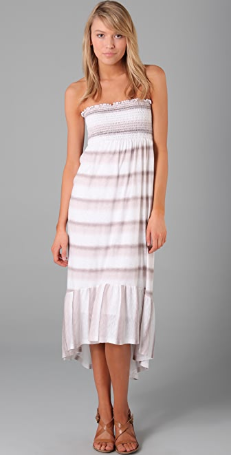 Splendid Ombre Stripe Dress / Skirt