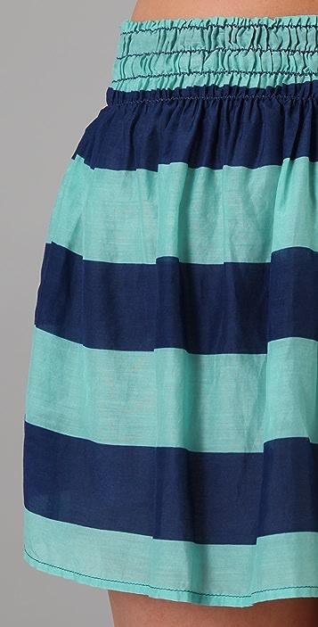Splendid Superwide Rugby Stripe Skirt