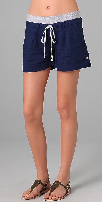 Splendid Linen Shorts