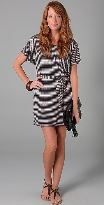 Splendid Skinny Navy Stripe Dress