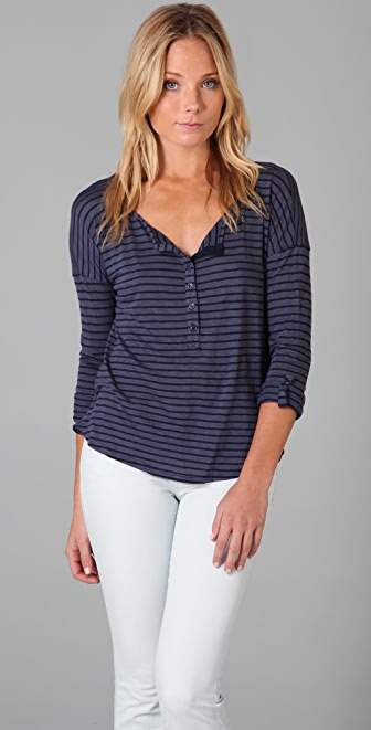 Splendid Skinny Venice Top