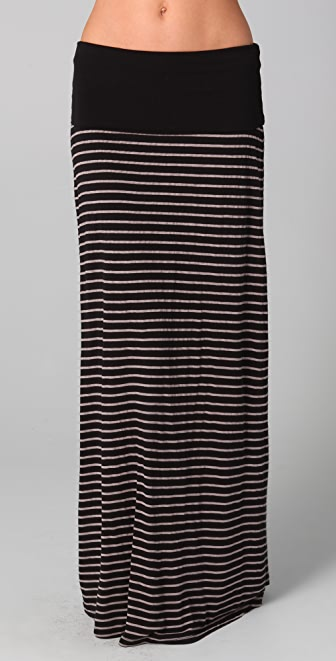 Splendid Mixed Stripe Maxi Skirt / Dress