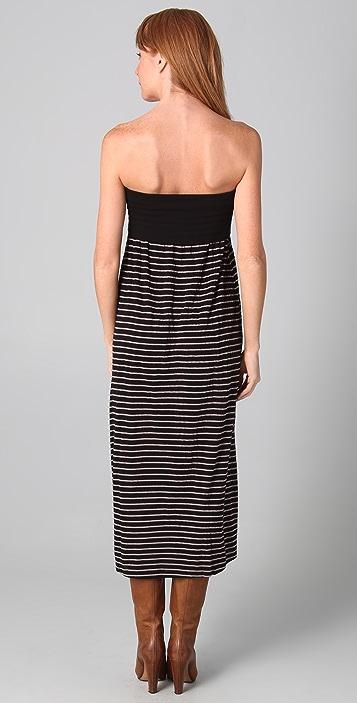 Splendid Mixed Stripe Maxi Skirt / Dress