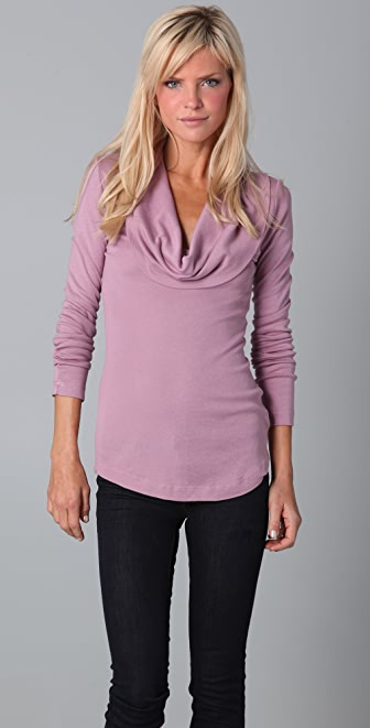 Splendid 1x1 Cowl Top