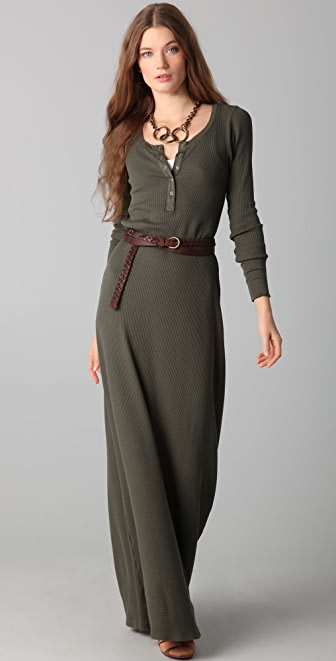 Splendid Thermal Maxi Dress
