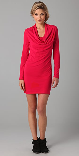 Splendid Cowl Mini Dress
