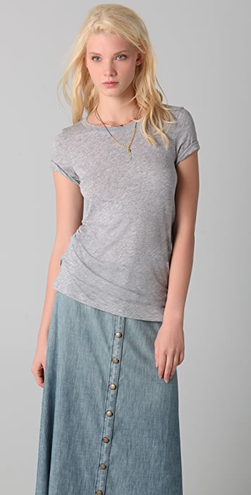 Splendid Heather Very Light Jersey Tee