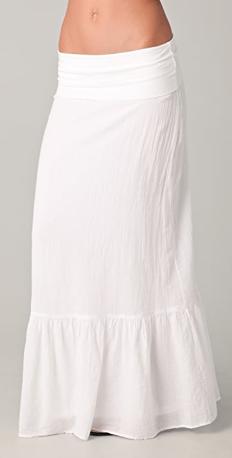 Splendid Gauze Maxi Skirt / Dress