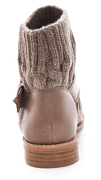 Splendid Toronto Wrap Strap Knit Booties