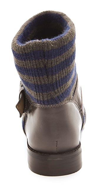 Splendid Toronto Stripe Knit Booties