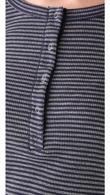 Splendid Mini Stripe Henley