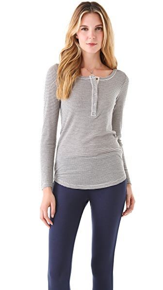 Splendid Mini Stripe Henley