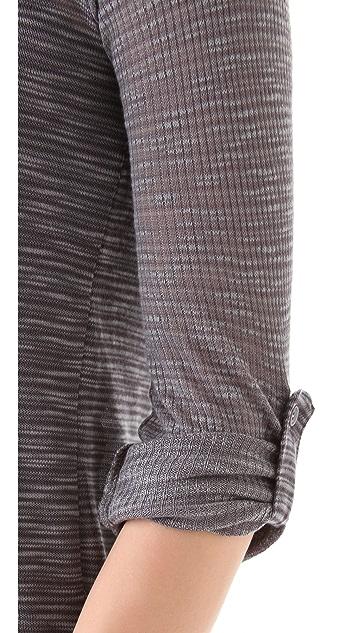 Splendid Loose Knit Henley