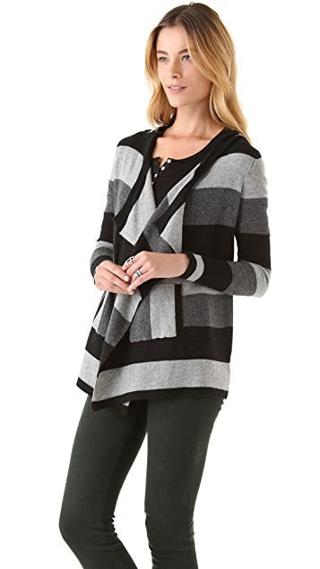 Splendid Heather Rugby Cardigan