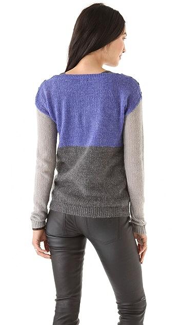 Splendid Colorblock Sweater