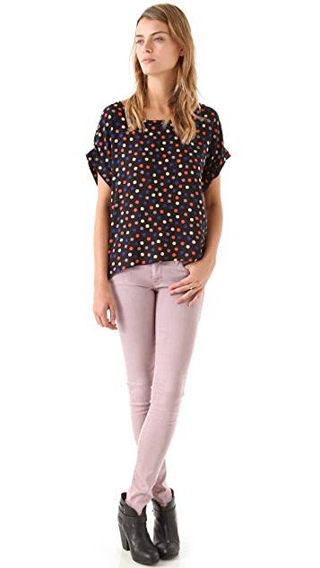 Splendid Mod Dot Top