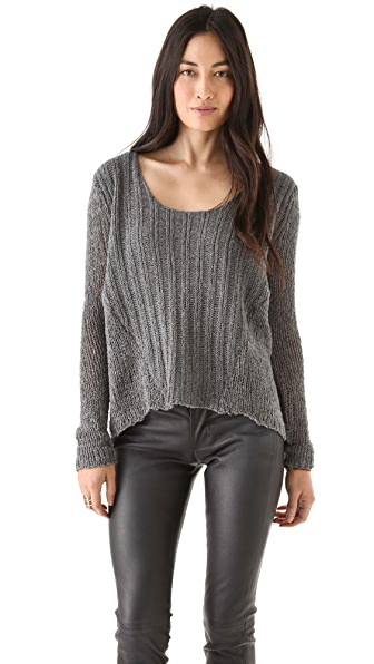 Splendid Airspun Slub Sweater