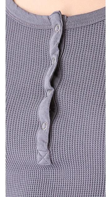Splendid Long Sleeve Henley