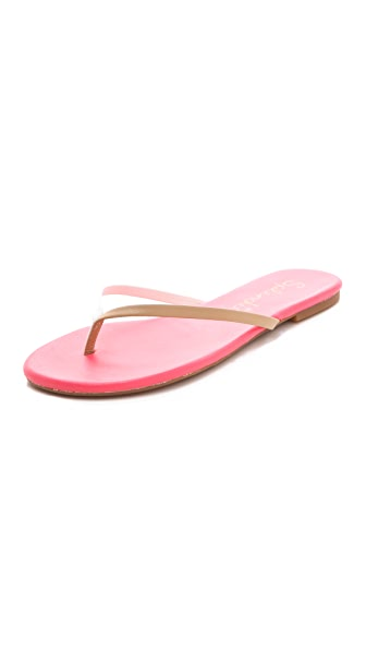 Splendid Madrid Colorblock Flip Flops
