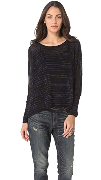 Splendid Norwegian Slub Dolman Top