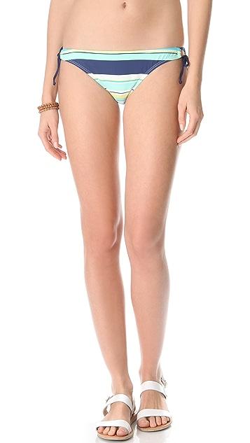 Splendid Circus Stripe Bikini Bottoms