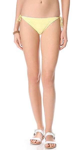 Splendid Ginger Eyelet Bikini Bottoms
