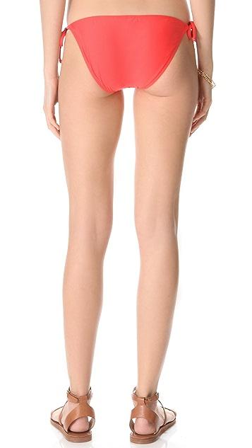 Splendid Bayside Solids Tie Bikini Bottoms