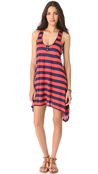 Splendid Marcel Stripe Cover Up Dress