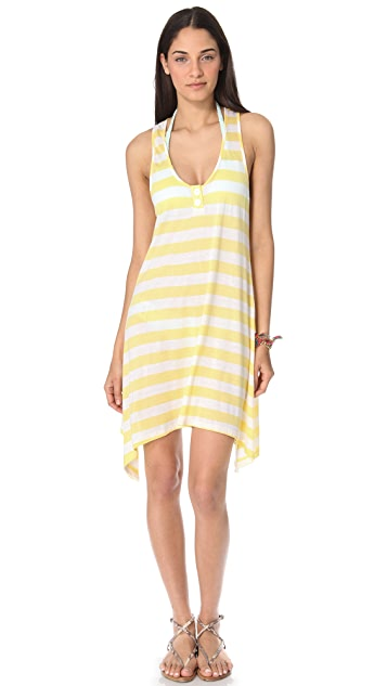 Splendid Marcel Stripe Cover Up Dress