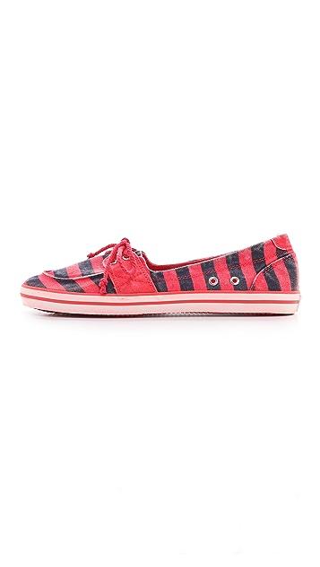 Splendid Mandarin Canvas Boat Shoes