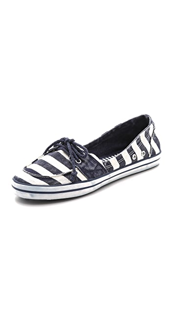 Splendid Mandarin Canvas Boat Shoes