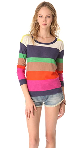 Splendid Seaside Stripe Pullover