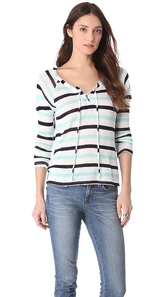 Splendid Clearwater Striped Sweater