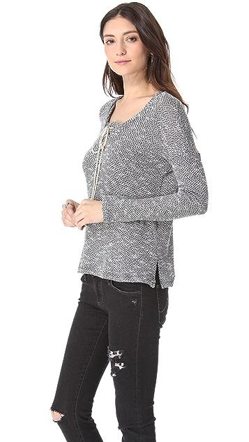 Splendid Key West Loose Knit Pullover