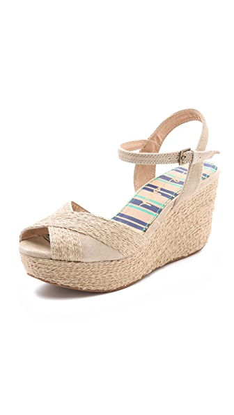 Splendid Granite Wedge Sandals