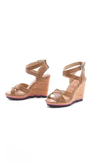Splendid Sage Sport Bottom Sandals