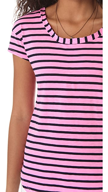 Splendid Miami Stripe Tee