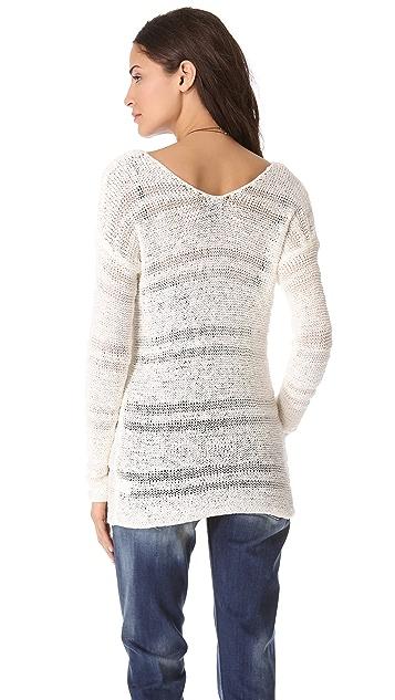 Splendid Chantilly Tape Yarn Sweater