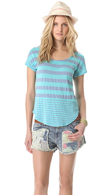 Splendid Marseille Stripe Top