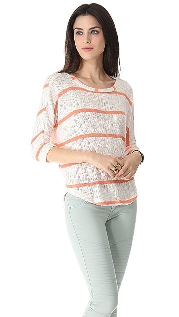 Splendid French Riviera Stripe Pullover