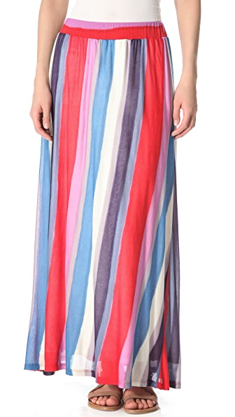 Splendid Watercolor Stripe Skirt