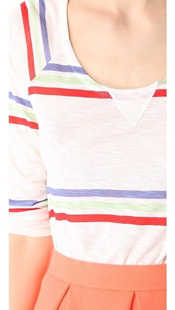 Splendid Hermosa Slub Striped Top