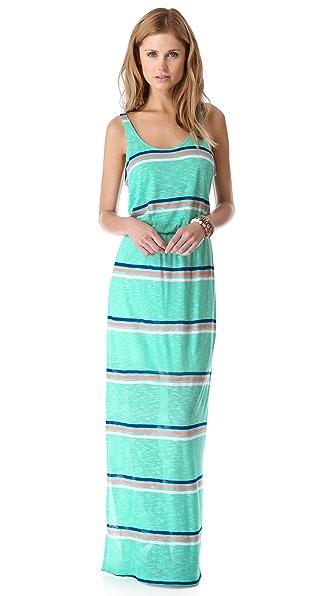 Splendid Hermosa Striped Maxi Dress