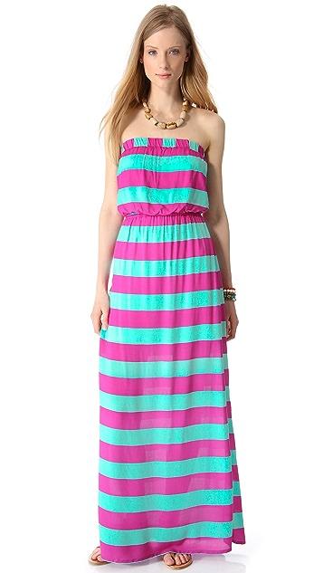 Splendid Magnolia Stripe Maxi Dress